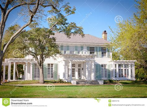 southern house plans with wrap around porches southern style mansion stock photo image 23815718