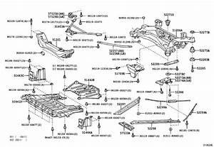 Lexus Sc 430 Plate  Rear End Body Mounting Set