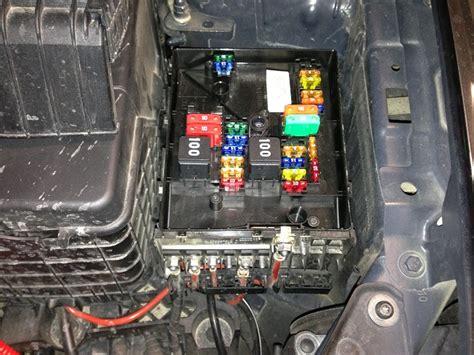 fuse box diagram  vw golf tdi  dash  engine