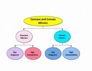 Concave And Convex Mirror Ray Diagram Worksheet