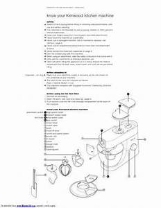 Kenwood Km 001 Titanium Chef Mixer Download Manual For