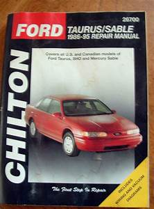 Buy Ford Taurus  Sable Repair Manual 1986