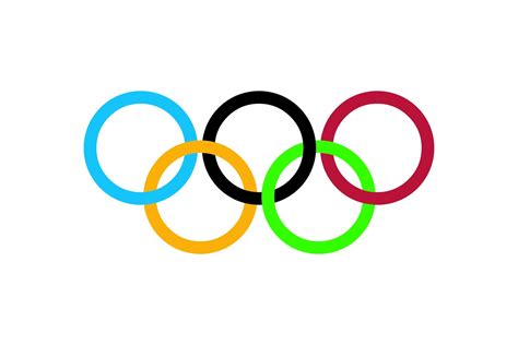 themed sheets olympic rings logo