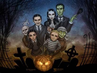 Addams Background