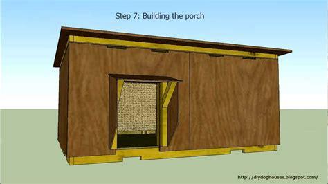 detailed instruction insulated dog house  youtube