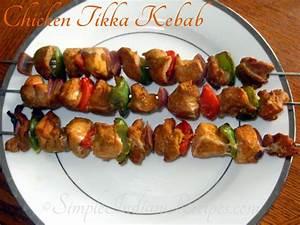 India Food Recipes Chicken Tikka Kebab