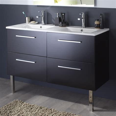 grand meuble salle de bain meuble double vasque pas cher