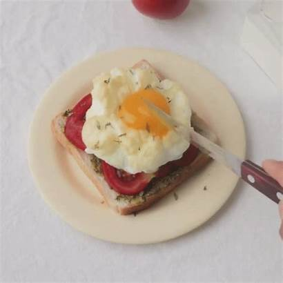 Breakfast Cottagecore Eggs Toast Gifs Sensory Stim