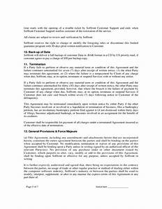 saas agreement soffront software free download With saas contract template