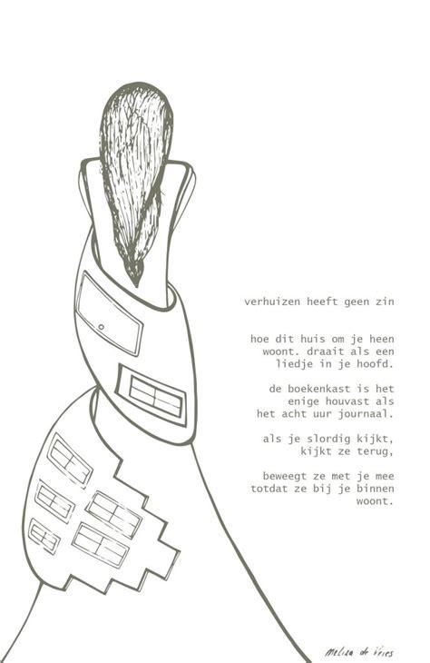 illustratie gedicht verhuizen heeft geen zin