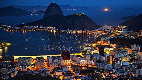 rio de janeiro  night pictures wallpaper wallpaperscom