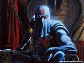 Cobra Commander GI Joe Cartoon