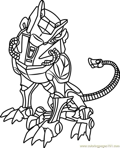 green lion coloring page  voltron legendary