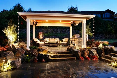 Backyard Patio Images by 22 Patio Cover Designs Ideas Plans Design Trends