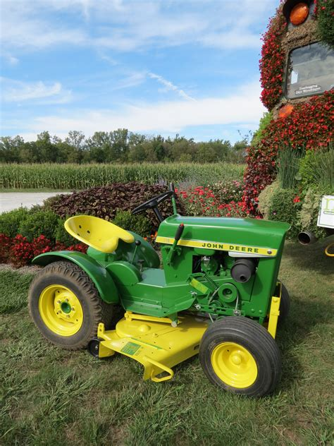 Garden Tractor by Deere Collectors Gather To Celebrate 50 Years Of