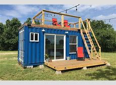 This Quirky Shipping Container Home is Cozy and Affordable