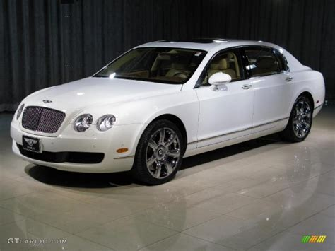 white bentley flying spur 2006 glacier white bentley continental flying spur