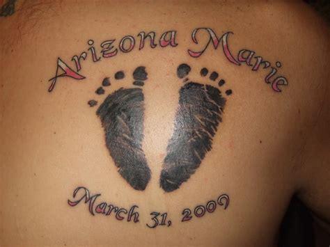 tattoo designs baby footprint tattoos