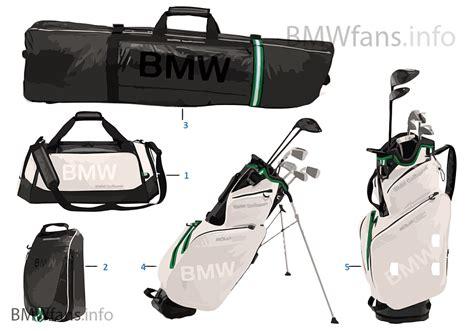Bmw Golf Bag by Bmw Golfsport Bags 2015 17 Bmw Accessories Catalog