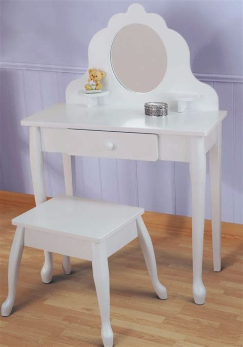 little girls makeup table furniture beautiful little girls vanity set will perfect