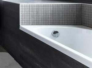 Carrelage Salle De Bain Bricomarché : peindre son carrelage de salle de bains en 3 tapes elle d coration ~ Melissatoandfro.com Idées de Décoration
