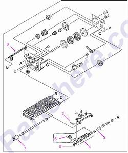 Parts Diagram7 Picture For Hp Laserjet 4000 Series