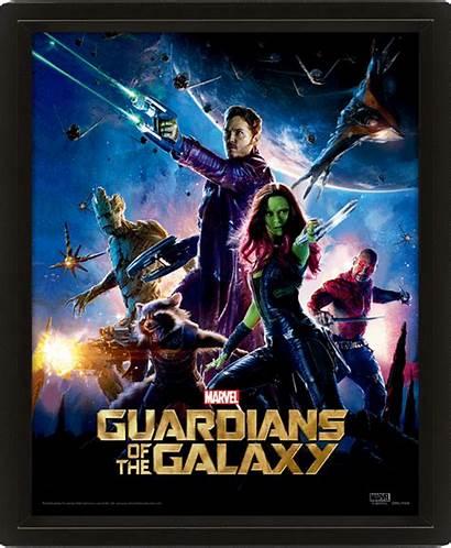 Galaxy Poster Guardians 3d Lenticular Marvel Avengers