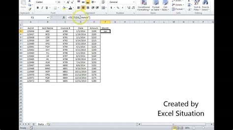 excel date converted   letter month abbreviation