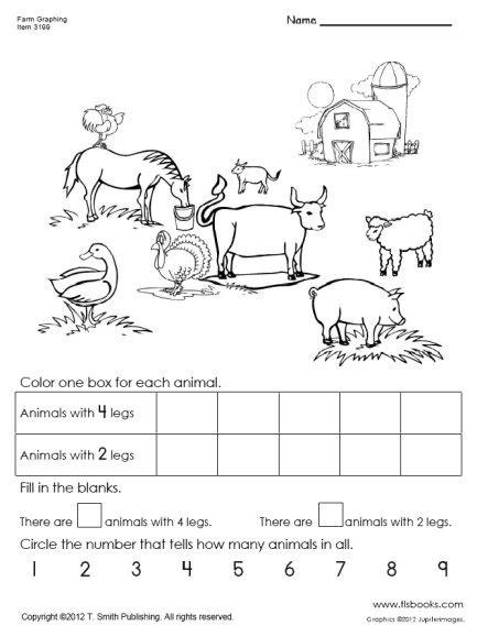 worksheets on farm animals for grade 1 11 best images of farm addition worksheet farm animal