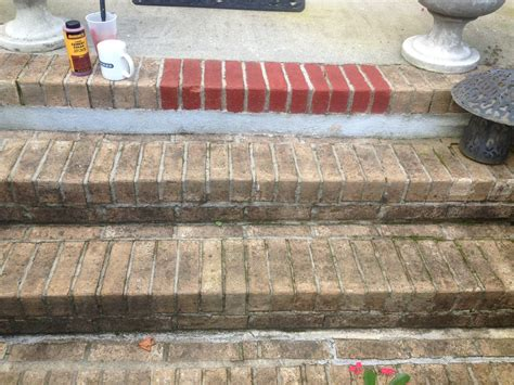 painting brick christy s thrifty decorating painting brick