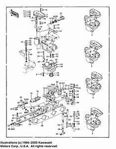 Carburetors    For 1973 Kawasaki Z1