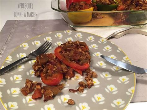 recette cuisine vegane recettes de poivrons farcis et cuisine vegane