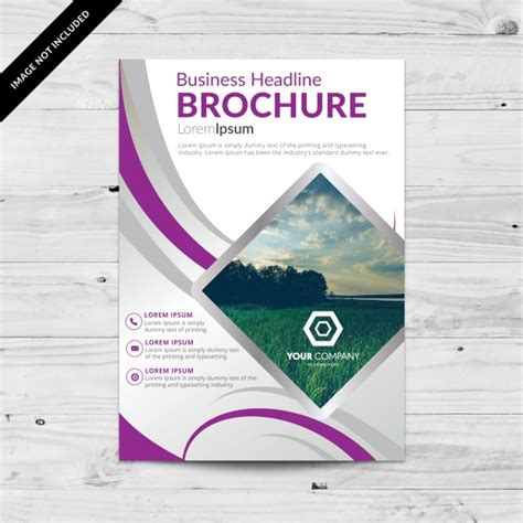 Brochure Template Design Flyer Design Vectors Photos And Psd Files Free
