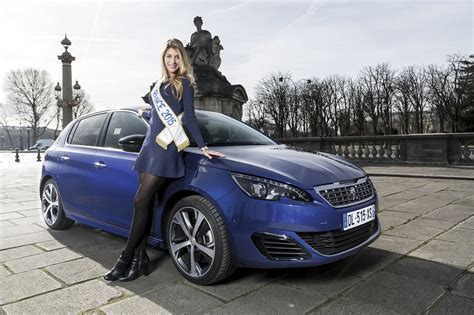 peugeot france automobile miss france 2016 iris mittenaere remporte la peugeot ion