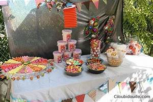 Deco Fete Foraine : un buffet d 39 anniversaire sur le th me de la f te foraine ciloubidouille party pinterest ~ Teatrodelosmanantiales.com Idées de Décoration