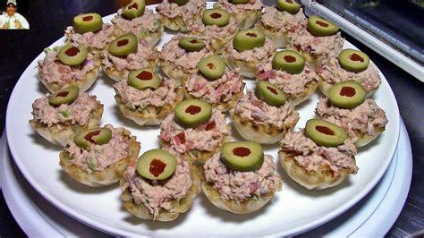 dip de atún para canapés aperitivos faciles