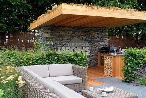 photo cuisine exterieure jardin cuisine d ete exterieure design