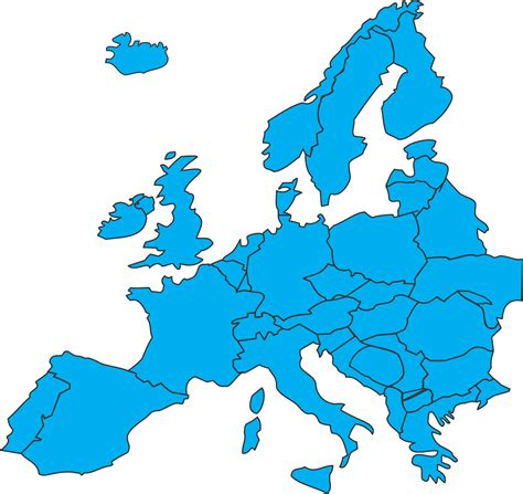 Map Clip European Map Clipart Clipground