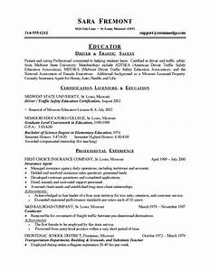 free elementary teacher resume template recentresumescom With free teacher resume builder