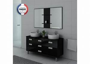 Meuble Salle De Bain 2 Vasques : meuble de salle de bain 2 vasques sur pieds meuble 2 ~ Edinachiropracticcenter.com Idées de Décoration