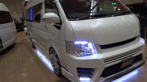 Toyota Hiace 4k Wallpapers by Toyota Hiace H200 Customcar トヨタ ハイエース H200型カスタムカー Doovi