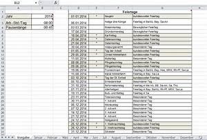 Zeiten Berechnen Excel : arbeitszeitnachweis vorlage mit excel erstellen office ~ Themetempest.com Abrechnung