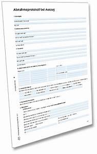übergabeprotokoll Wohnung Vermieter : abnahmeprotokoll formular zum download zweckform ~ A.2002-acura-tl-radio.info Haus und Dekorationen
