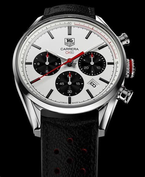 tag heuer carrera tag heuer carrera calibre ch 80 watch return to the 1960s