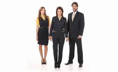 Casual Executive Uniforms Administrativo Elegante