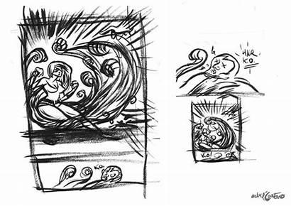 Medusa Marvel Fanart Skrull Slapped Pencilled Smaller