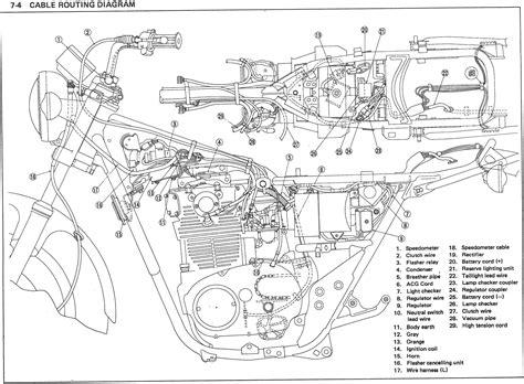 1981 Yamaha 400 X Wiring Image by Xs650 78 Xs E Se Wiring Thexscafe