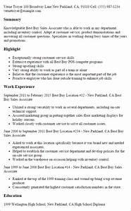 best buy sales associate resume template best design With buy resume templates