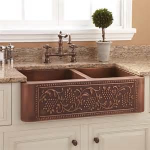 cast iron farmhouse sink 33 quot angove double bowl cast iron farmhouse sink kitchen