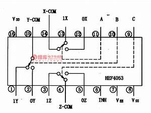 Hef4053-the Intergrated Circuit Of Analog Switches